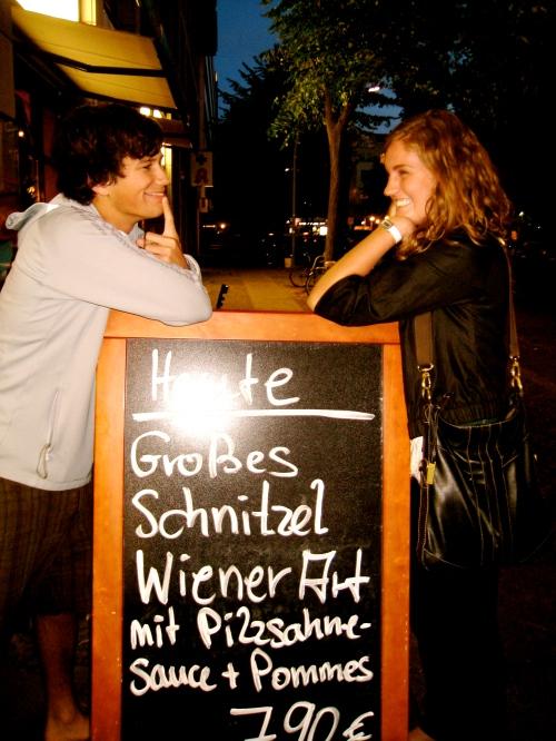 me and ben schnitzel